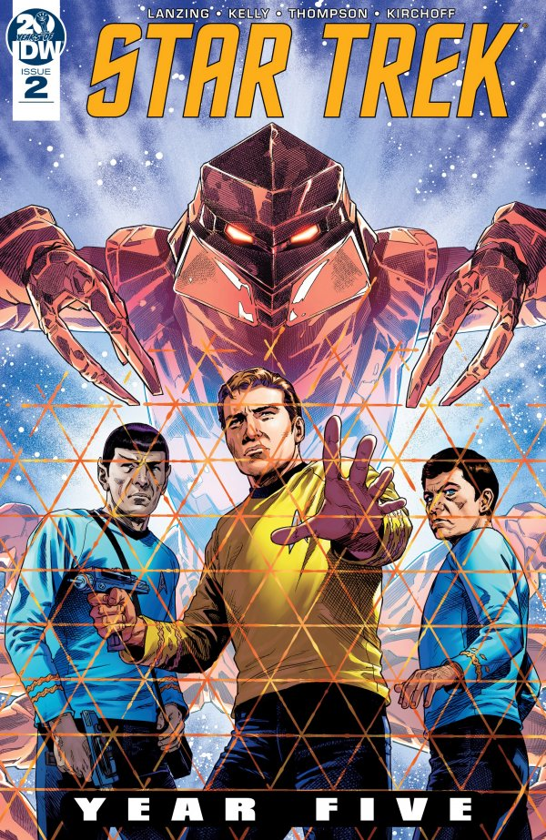 Comic Book Pull for May 29th, 2019 STAR TREK YEAR FIVE #2