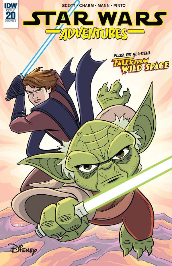 Comic Pull for April 17th, 2019 STAR WARS ADVENTURES #20