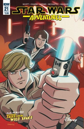 STAR WARS ADVENTURES 21 329x500 Comic Book Review for May 8th, 2019