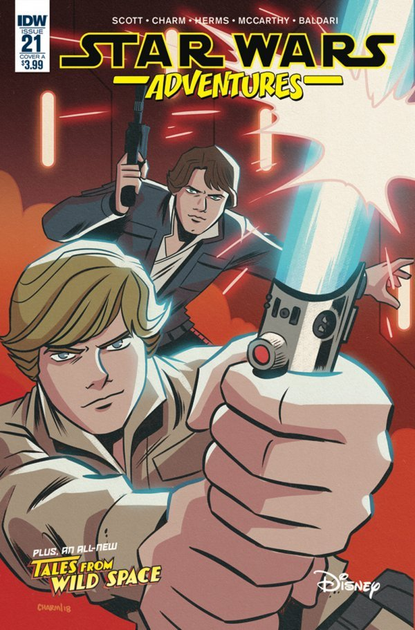 Comic Book Review for May 8th, 2019 STAR WARS ADVENTURES #21