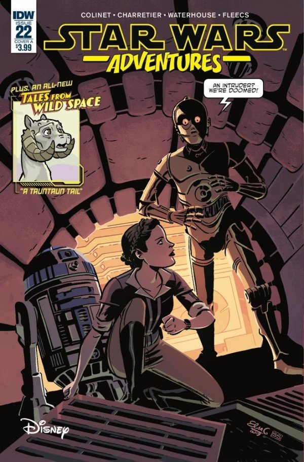 Comic Book Pulls for June 5th, 2019 STAR WARS ADVENTURES #22