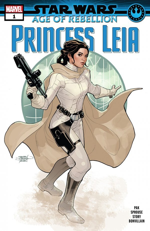 Comic Pull For April 10th, 2019 STAR WARS AGE OF REBELLION – PRINCESS LEIA #1