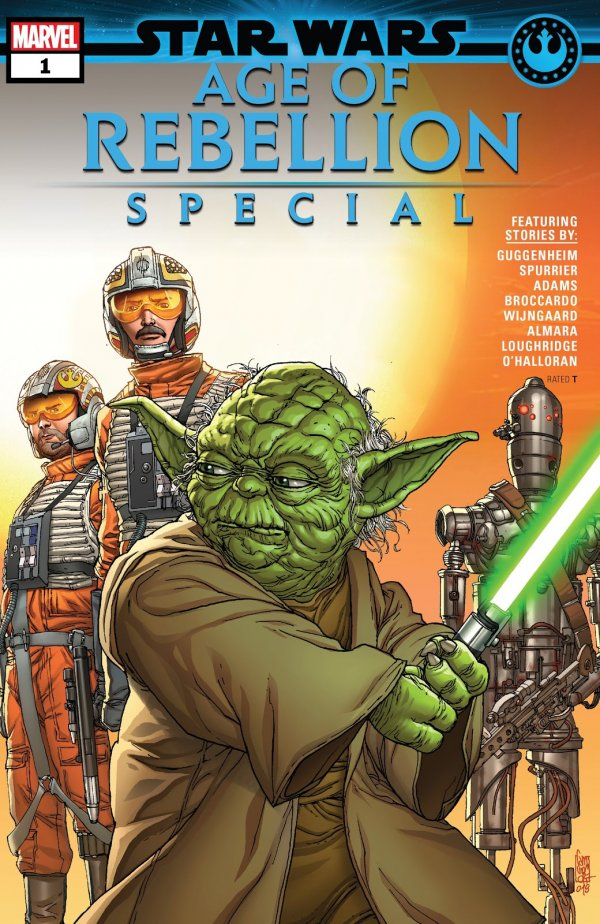 Comic Pull for April 17th, 2019 STAR WARS AGE OF REBELLION SPECIAL #1
