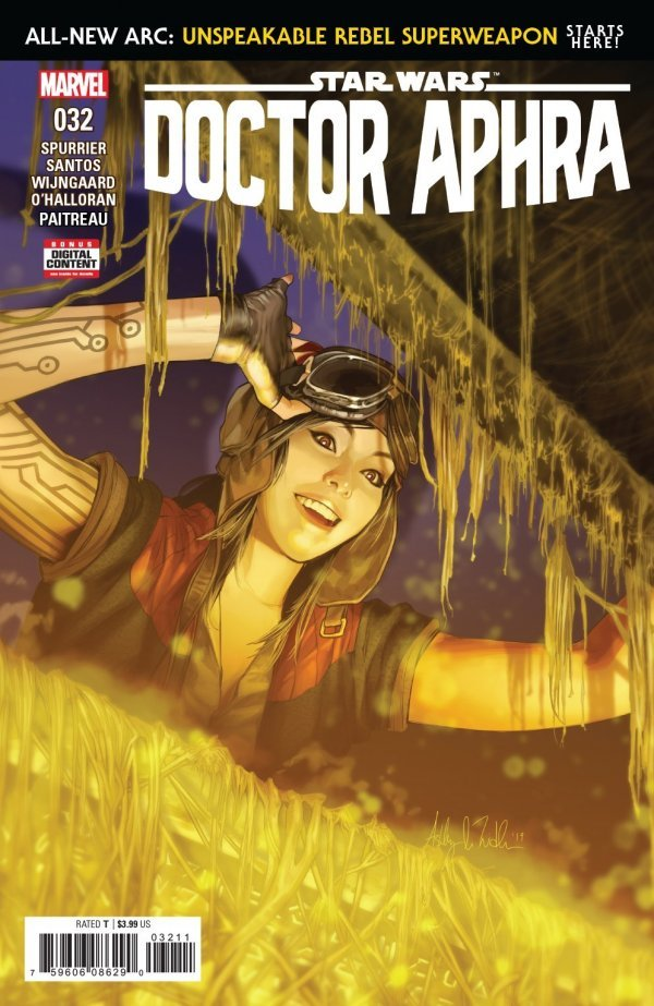 Comic Book Review for May 8th, 2019 STAR WARS DOCTOR APHRA #32