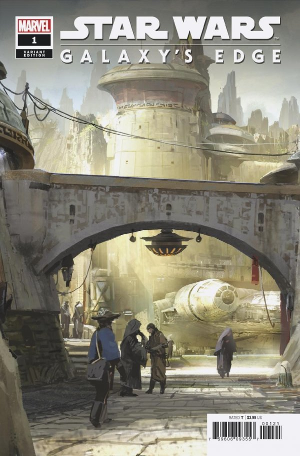 Comic Review for week of April 24th, 2019 STAR WARS GALAXY'S EDGE #1 ATTRACTION VARIANT
