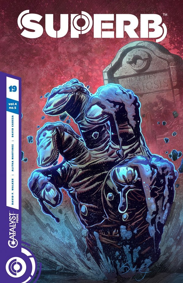 Comic Review for week of April 24th, 2019 SUPERB #19