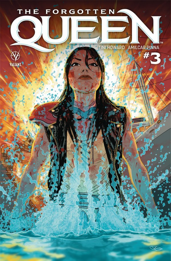 Comic Review for week of April 24th, 2019 THE FORGOTTEN QUEEN #3
