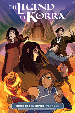 Comic Book Pull for May 22th, 2019 THE LEGEND OF KORRA RUINS OF THE EMPIRE PART 1 TP