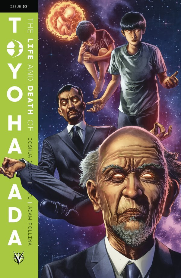 Comic Book Pull for May 15th, 2019 THE LIFE AND DEATH OF TOYO HARADA #3