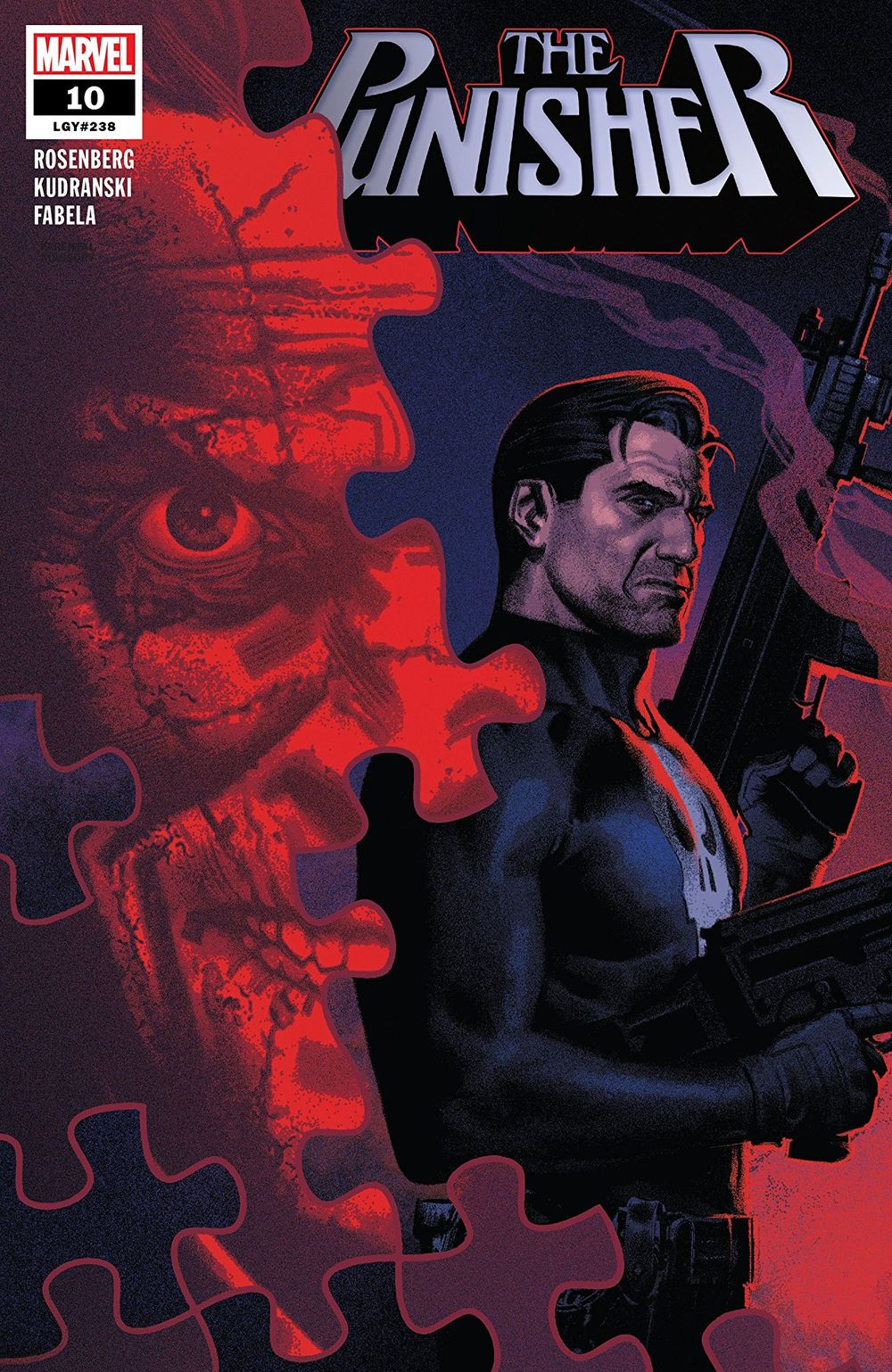 Comic Book Pull for April 3rd, 2019 THE PUNISHER #10