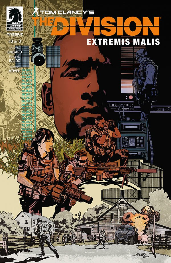 Comic Book Pull for April 3rd, 2019 TOM CLANCY'S THE DIVISION EXTREMIS MALIS #3