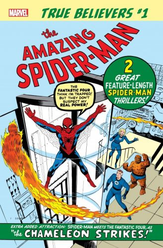 TRUE BELIEVERS AMAZING SPIDER MAN 1 329x500 Comic Book Pulls for June 5th, 2019