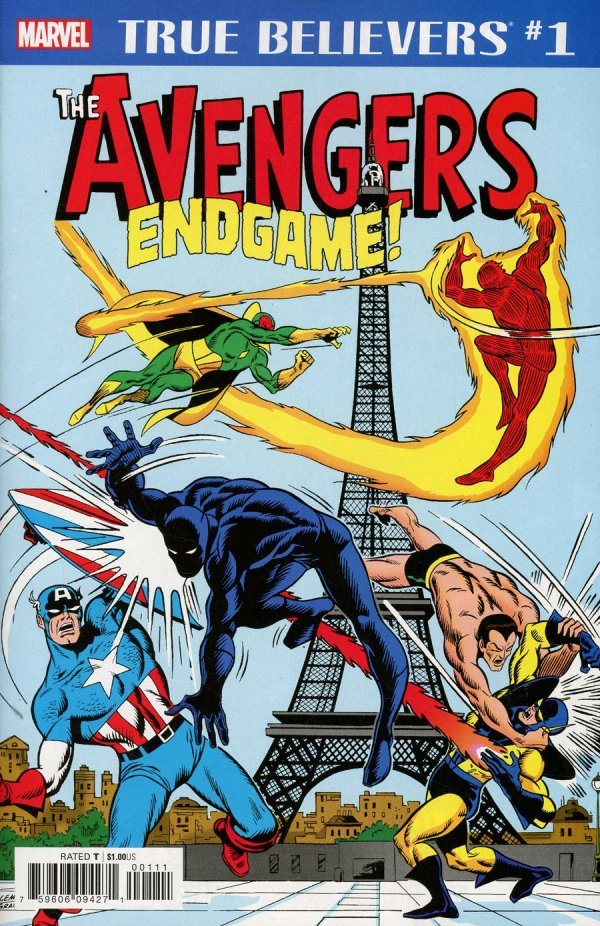 Comic Pull for April 17th, 2019 TRUE BELIEVERS AVENGERS – ENDGAME #1
