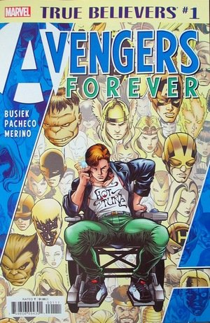 Comic Review for week of April 24th, 2019 TRUE BELIEVERS AVENGERS FOREVER #1