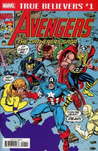 TRUE BELIEVERS AVENGERS GATHERERS SAGA 1 324x500 Comic Pull for April 17th, 2019