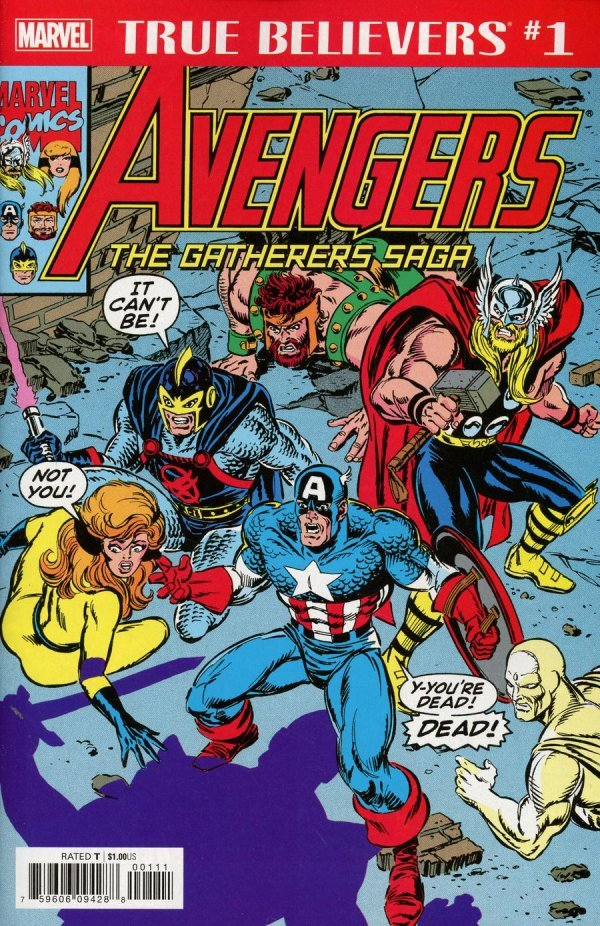 Comic Pull for April 17th, 2019 TRUE BELIEVERS AVENGERS – GATHERERS SAGA #1