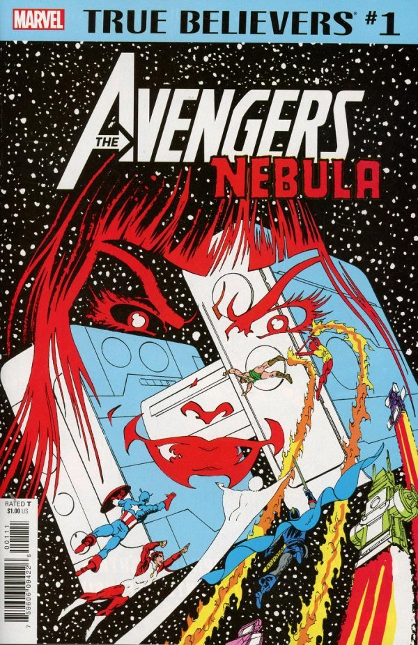 Comic Book Pull for April 3rd, 2019 TRUE BELIEVERS AVENGERS – NEBULA #1