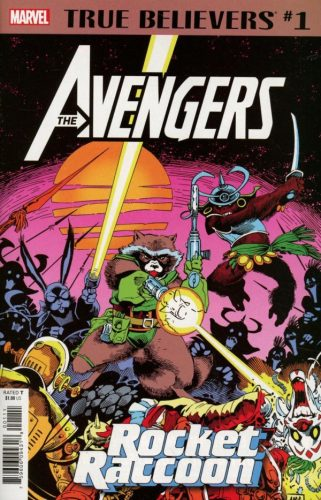 TRUE BELIEVERS AVENGERS ROCKET RACCOON 1 321x500 Comic Review for week of April 24th, 2019