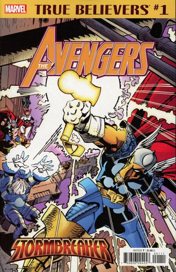 Comic Pull For April 10th, 2019 TRUE BELIEVERS AVENGERS – STORMBREAKER #1