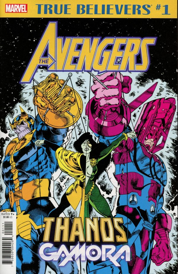 Comic Pull For April 10th, 2019 TRUE BELIEVERS AVENGERS – THANOS AND GAMORA #1
