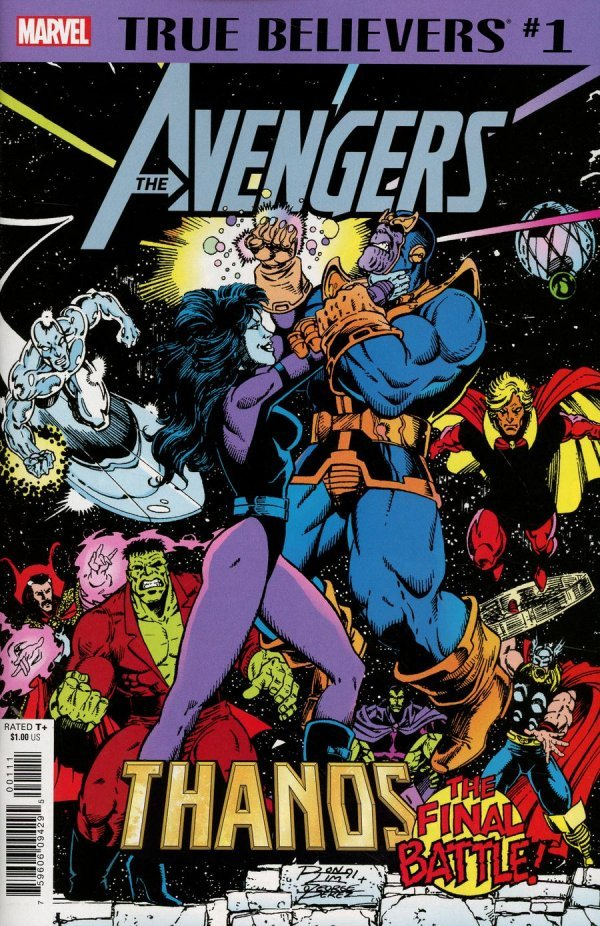 Comic Pull for April 17th, 2019 TRUE BELIEVERS AVENGERS – THANOS FINAL BATTLE #1