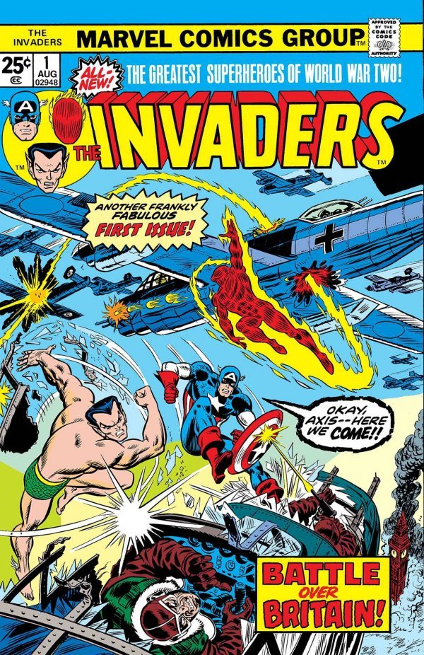 Comic Book Review for May 8th, 2019 TRUE BELIEVERS INVADERS #1