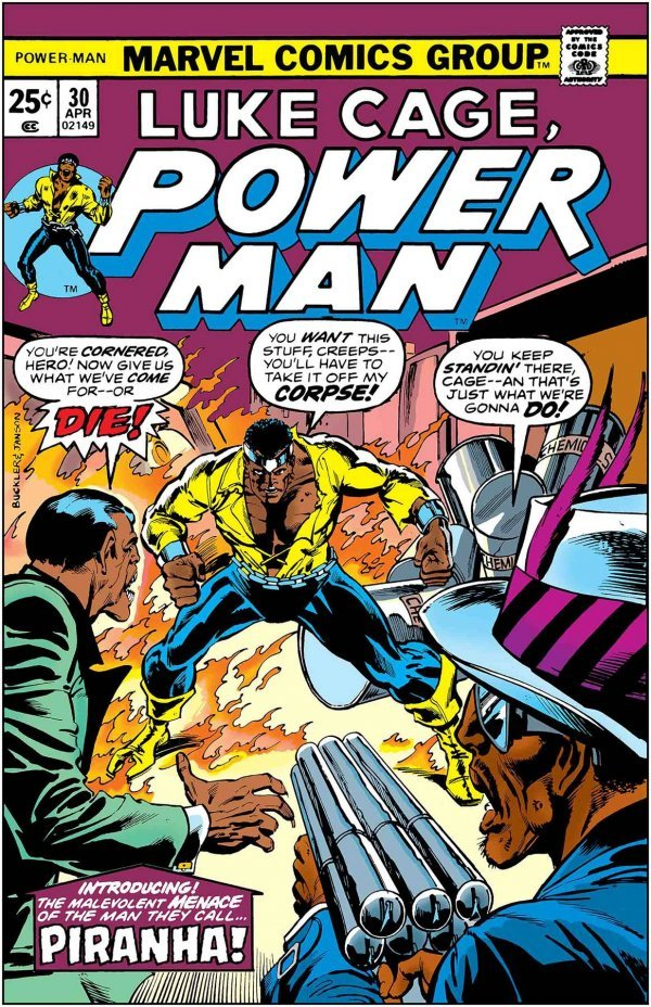 Comic Book Pull for May 15th, 2019 TRUE BELIEVERS LUKE CAGE, POWER MAN – PIRANHA #1