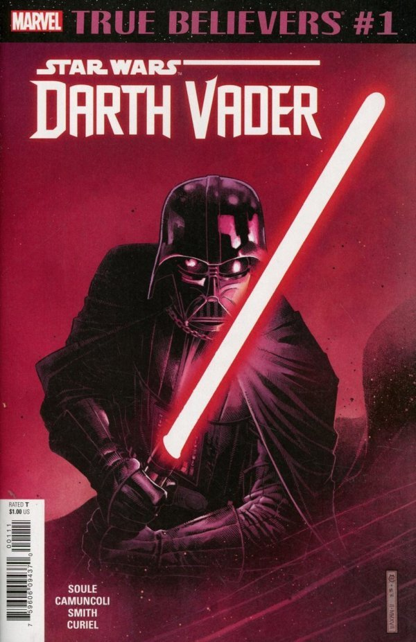 Comic Review for week of April 24th, 2019 TRUE BELIEVERS STAR WARS – DARTH VADER #1
