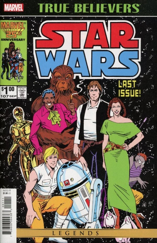 Comic Review for week of April 24th, 2019 TRUE BELIEVERS STAR WARS – THE ORIGINAL MARVEL YEARS #107