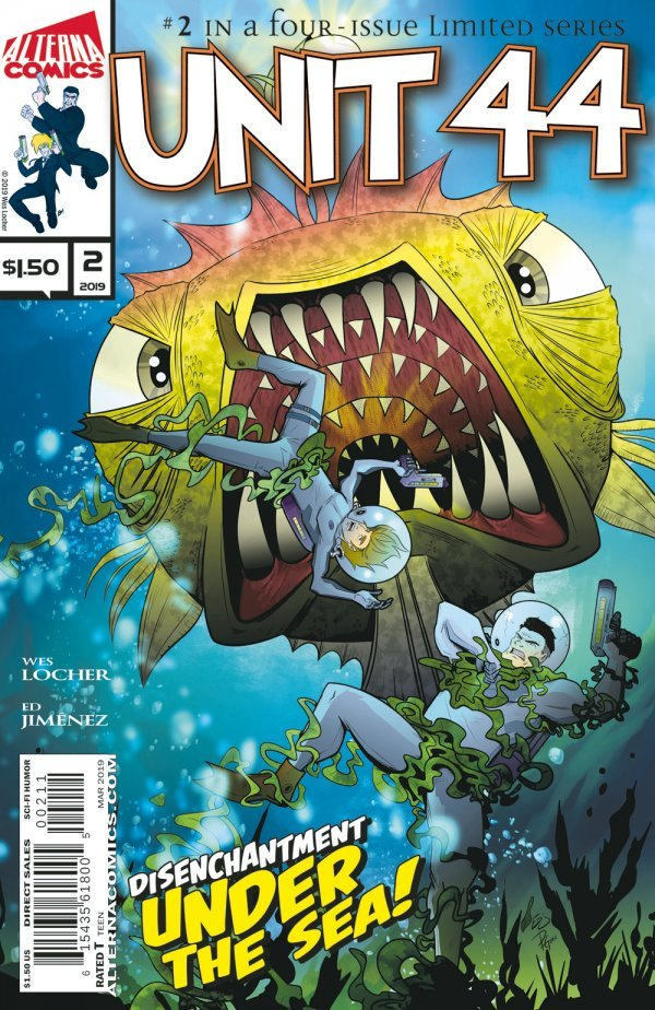 Comic Book Pull for April 3rd, 2019 UNIT 44 #2