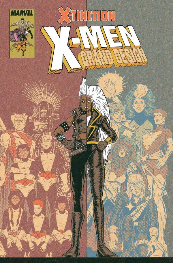 Comic Book Pull for May 29th, 2019 X-MEN GRAND DESIGN – X-TINCTION #1