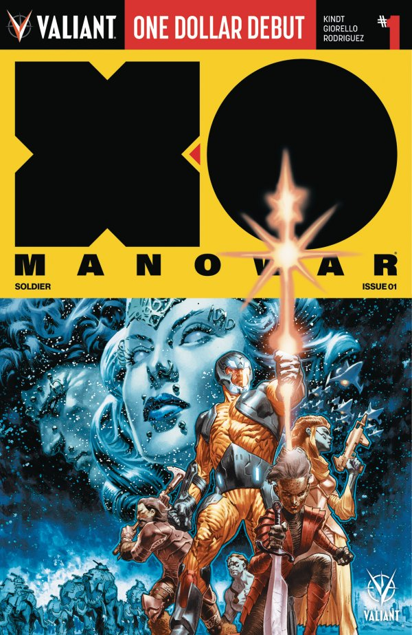 Comic Book Pull for April 3rd, 2019 X-O MANOWAR #1 DOLLAR DEBUT EDITION