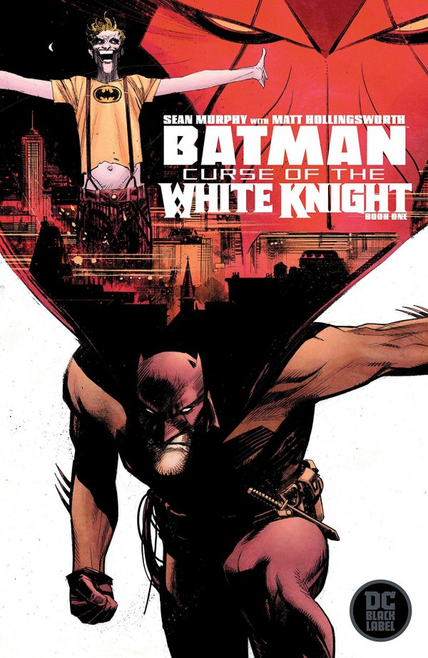 BATMAN CURSE OF THE WHITE KNIGHT 1 Comic Review for week of July 24th, 2019