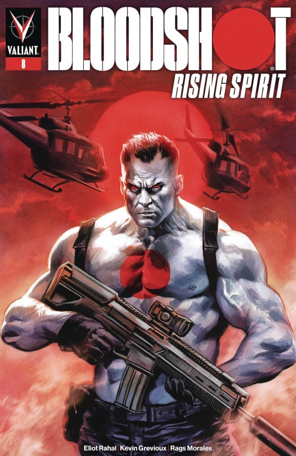 BLOODSHOT RISING SPIRIT 8 Comic Review for week of June 26th, 2019