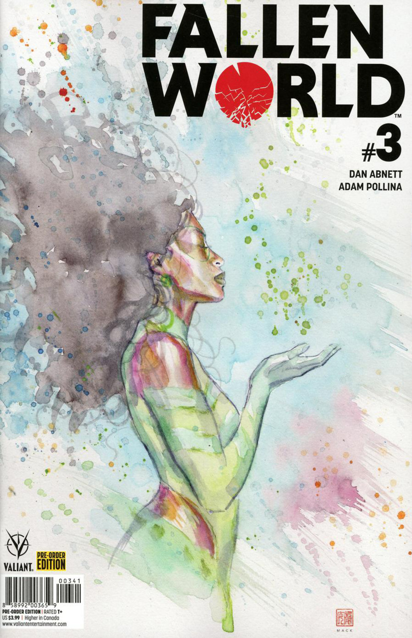 FALLEN WORLD 3 COVER D PRE ORDER BUNDLE EDITION Comic Review for week of July 10th, 2019