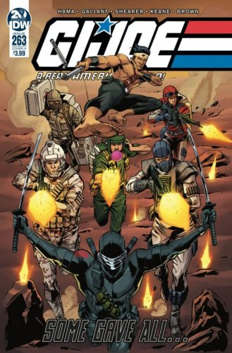 G.I. JOE A REAL AMERICAN HERO 263 329x500 Comic Review for week of June 12th, 2019