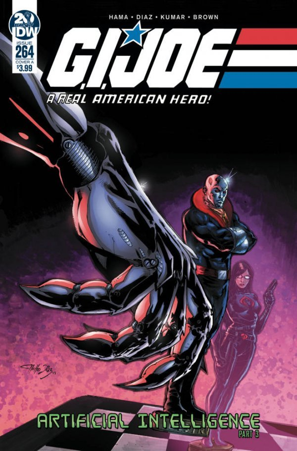 G.I. JOE A REAL AMERICAN HERO 264 Comic Review for week of February 20th, 2019