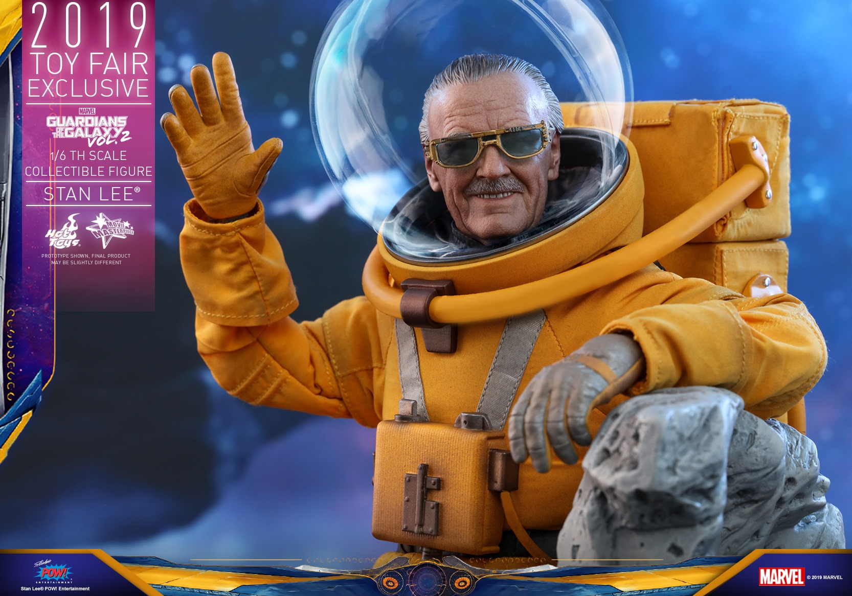 Guardians of the Galaxy 2 – Stan Lee Figure by Hot Toys – The Toyark – News Guardians of the Galaxy 2 – Stan Lee Figure by Hot Toys – The Toyark – News