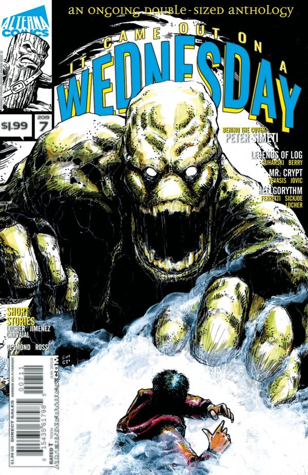 Comic Review for week of July 3rd, 2019 IT CAME OUT ON A WEDNESDAY #7