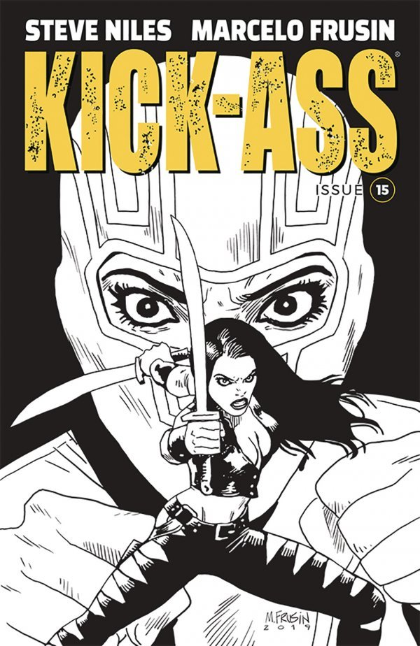 KICK ASS 15 COVER B FRUSIN Comic Review for week of June 26th, 2019