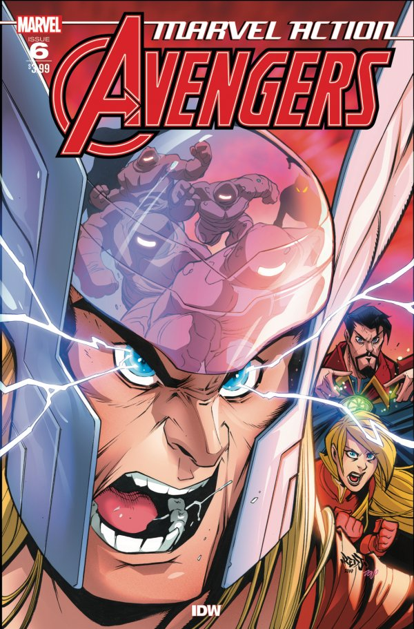 MARVEL ACTION AVENGERS 6 Comic Review for week of July 24th, 2019