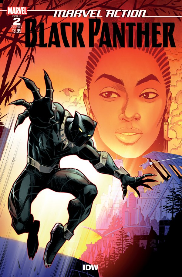 Comic Review for week of July 10th, 2019 MARVEL ACTION BLACK PANTHER #2