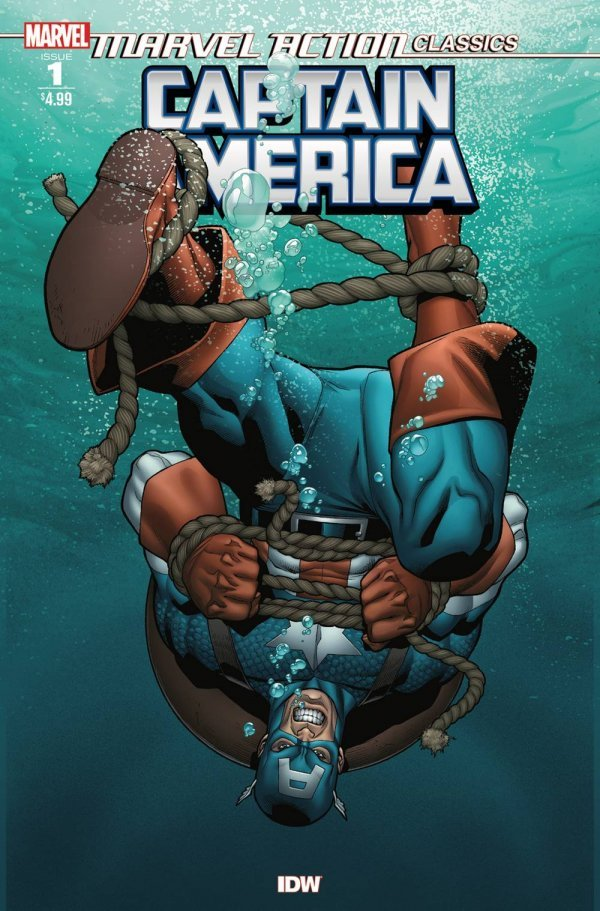 MARVEL ACTION CLASSICS CAPTAIN AMERICA 1 Comic Review for week of February 20th, 2019