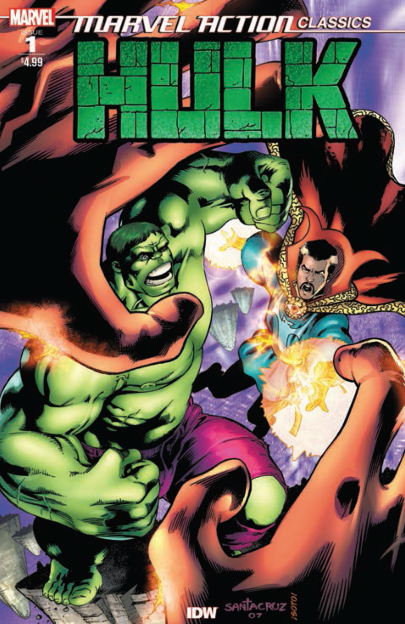 MARVEL ACTION CLASSICS HULK 1 Comic Review for week of July 24th, 2019