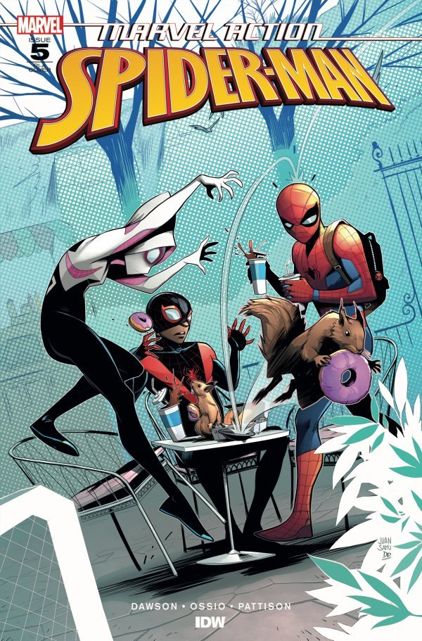MARVEL ACTION SPIDER MAN 5 Comic Review for week of June 12th, 2019