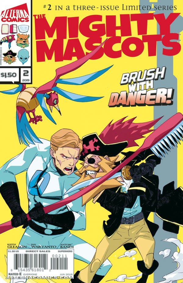 Comic Review for week of July 3rd, 2019 MIGHTY MASCOTS #2