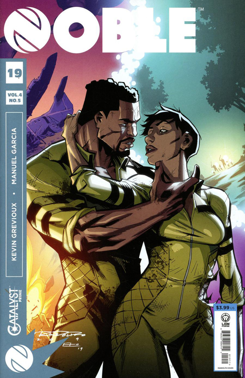 Comic Review for week of July 10th, 2019 NOBLE #19