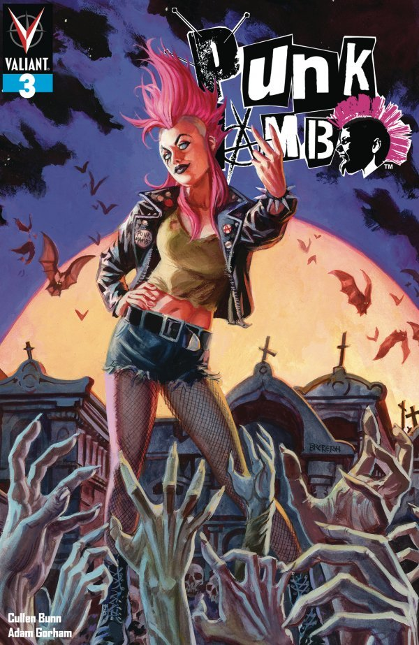 PUNK MAMBO 3 Comic Review for week of June 26th, 2019