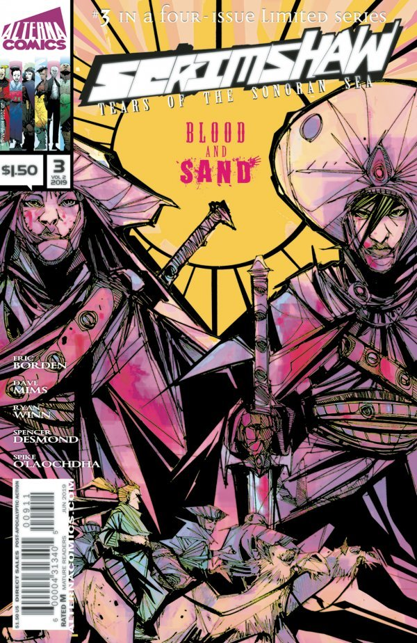 Comic Review for week of July 3rd, 2019 SCRIMSHAW #3