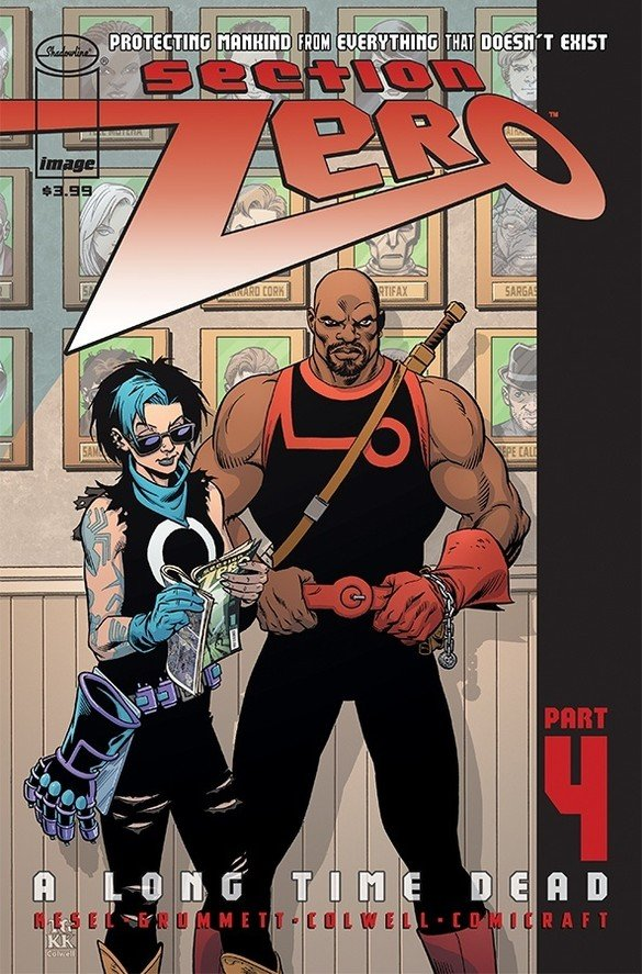 Comic Review for week of July 3rd, 2019 SECTION ZERO #4